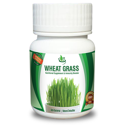 Wheat grass Capsule