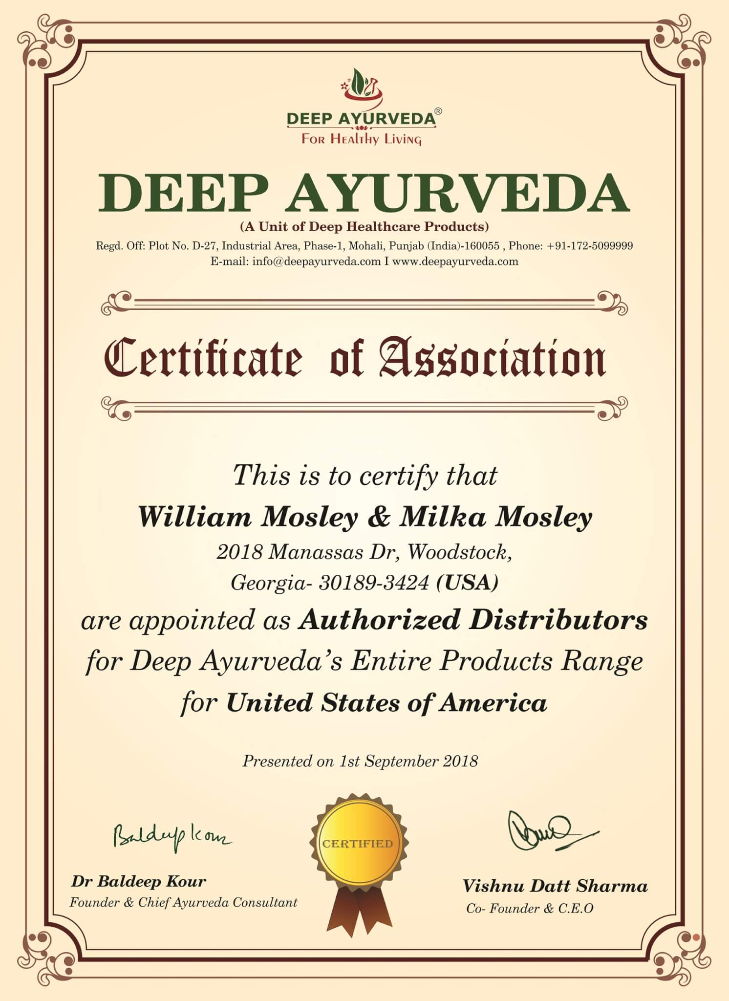 ayurveda in USA